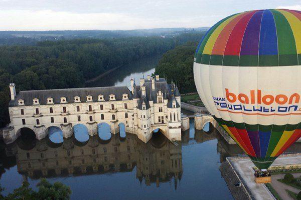 Château de Chenonceau - Balloon Revolution