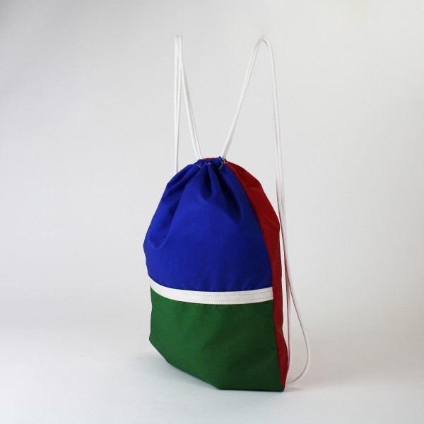 L'écologie et sacs en ancienne toile de montgolfière