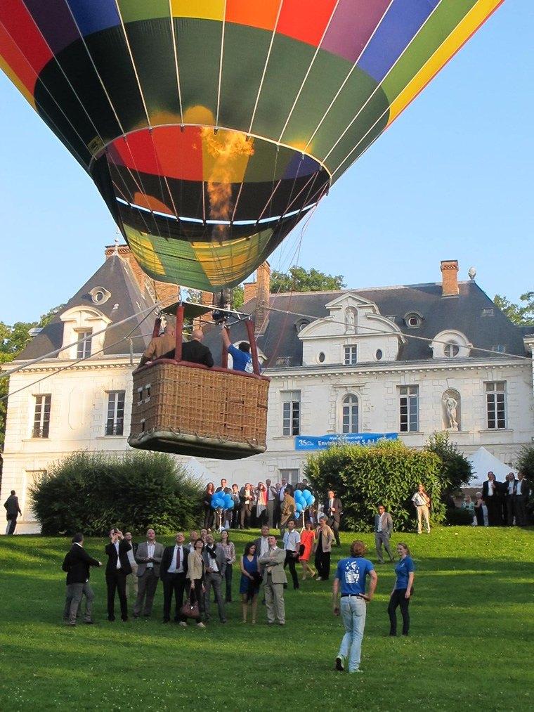 Montgolfiere en ballons captifs 01