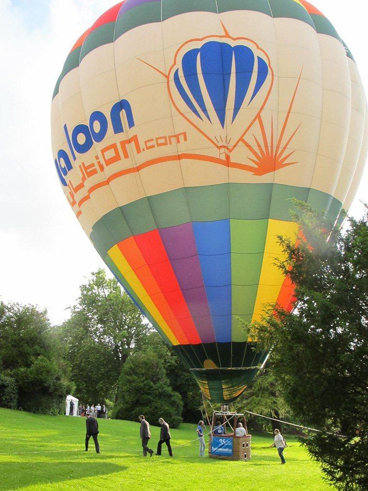 Montgolfiere en ballons captifs 03