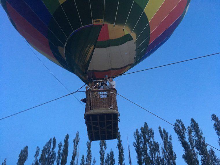 Montgolfiere en ballons captifs 04