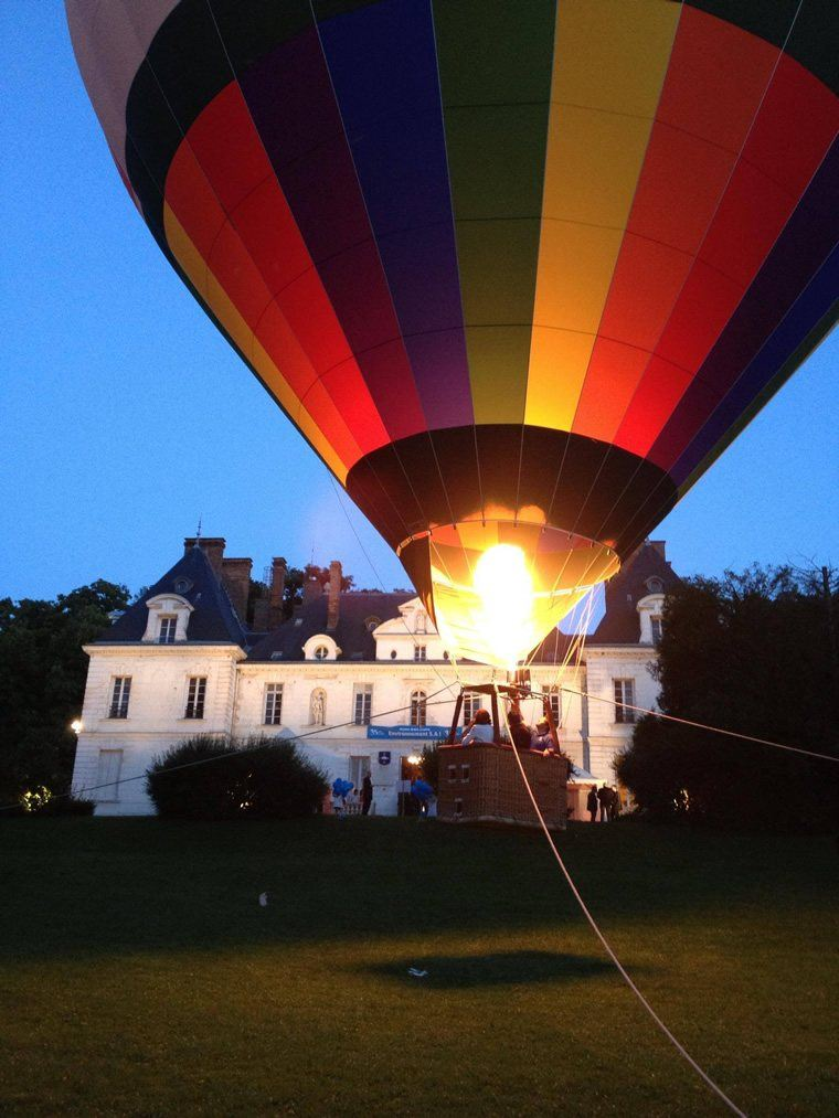 Montgolfiere en ballons captifs 05
