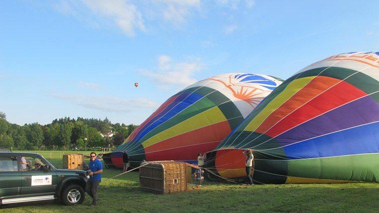 Comité d'entreprise et montgolfière 01