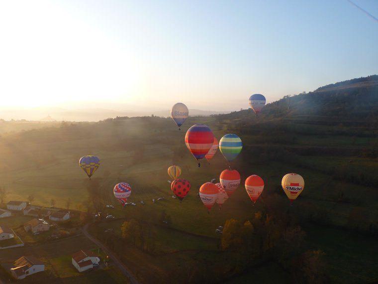 Publicité aérienne et marketing via montgolfière 03