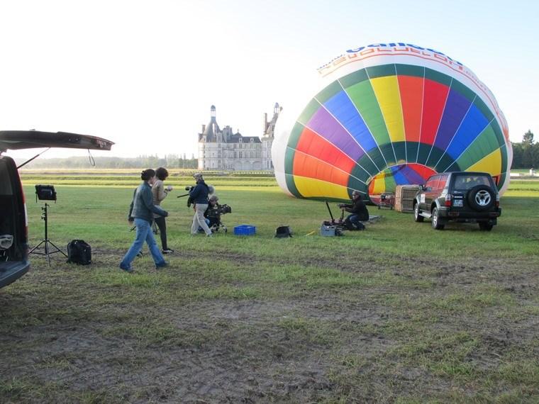 Tournage et prise de vues aériennes en montgolfière 02