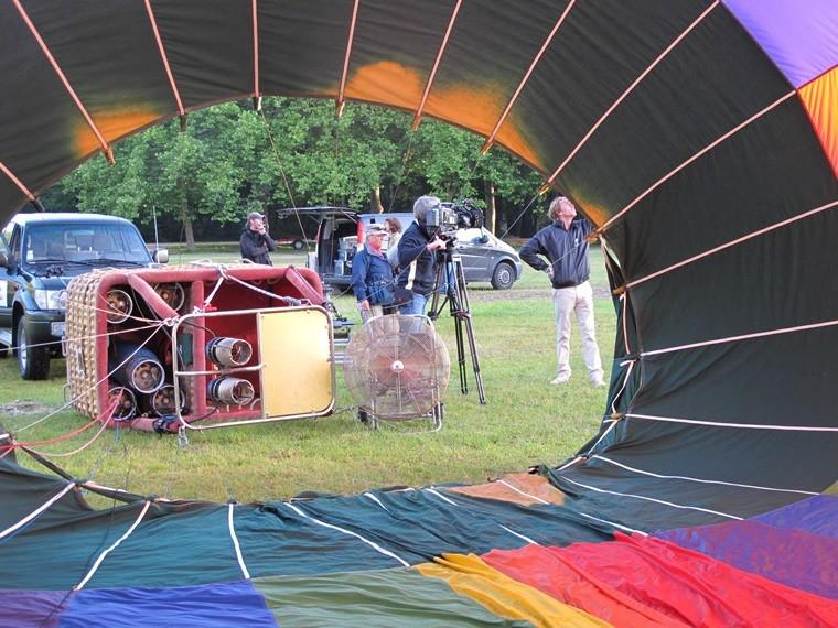 Tournage et prise de vues aériennes en montgolfière 04