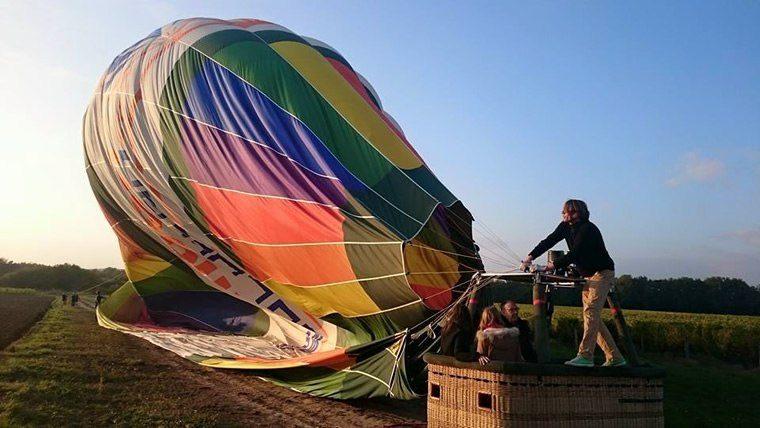 Comment vole une montgolfière