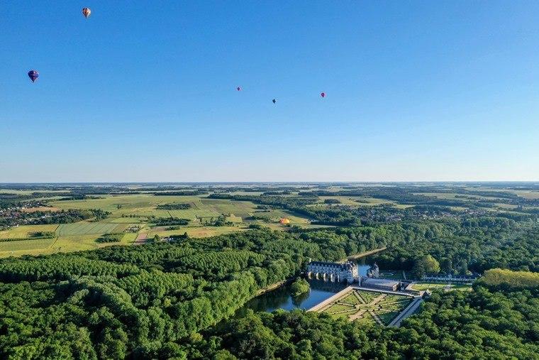 Sites de décollage de montgolfière