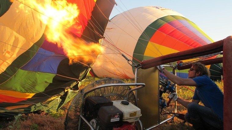 Vols déroulement BalloonRevolution étape 02
